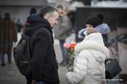 Фотофакт: Как минчане поздравляли друг друга с Днем святого Валентина