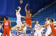 Белорусские баскетболисты праздновали победу над португальцами