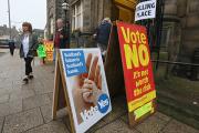 Противники независимости Шотландии вырвались вперед