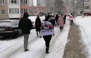 Ангарская идет бодрым маршем по Минску