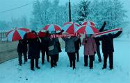 Брестские и гродненские пенсионеры вышли на протест