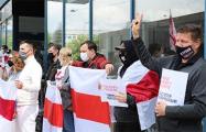Свободу правде требовали белорусы в Вильнюсе