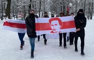 Минчан на марше поддержал сам Кастусь Калиновский!