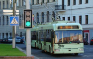 На выходных в Минске отменят движение троллейбусов по улице Богдановича