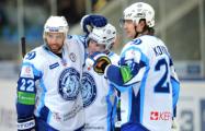 Хоккеисты минского «Динамо» обыграли «Витязь» в матче КХЛ