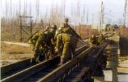 В Беларуси сегодня отмечается День железнодорожных войск