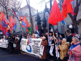 Пятеро участников акции солидарности с Дашкевичем на свободе (Фото)