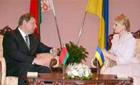 Встреча Тимошенко и Сидорского: поговорили о визах, электроэнергии, тракторах   и демпинге