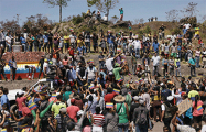 Cторонники Гуаидо прорвали кордон полиции на границе Венесуэлы и Колумбии