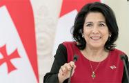 Зурабишвили: Российская оккупация не сломила волю Грузии к вступлению в ЕС и НАТО