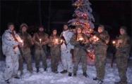 Видеофакт: Бойцы ВСУ с передовой поздравили Украину с Рождеством