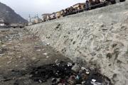 В Кабуле возле мечети сожгли душевнобольную женщину