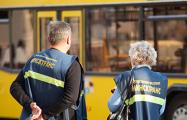 Появилось видео нападения безбилетницы на контролера в Барановичах