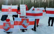 В Беларуси продолжаются вечерние протеста