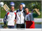 Белорусская каноэ-четверка выиграла золото на дистанции 1000 м на чемпионате мира в Венгрии