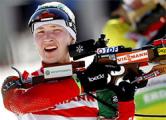 Домрачева взяла «серебро» в индивидуальной гонке в Эстерсунде
