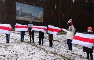 «Мы обязательно победим!»: женщины Минского района вышли на акцию