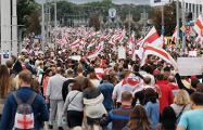 Невероятное количество людей в Минске прямо сейчас