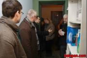 Сына Алеся Беляцкого увезли в наручниках