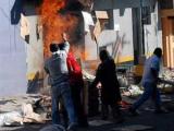 Толпа гватемальцев сожгла подозреваемого в убийстве