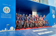 Велоклуб «Минск» одержал вторую победу на гонке первой категории в ОАЭ