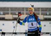 Домрачева заняла шестое место на этапе кубка мира