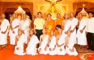 Спасенные из пещер в Таиланде дети окончили монашеское послушание