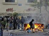 Радикальная молодежь устроила погром в центре Афин
