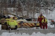 В Норвегии медицинский вертолет разбился по дороге к месту ДТП