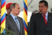 К приезду Путина Чавес убрал с улиц Каракаса фотографии Лукашенко