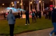 В Серебрянке на улицу вышли серьезные люди
