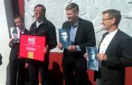 В Слуцке активисты провели акцию «Урок истории»