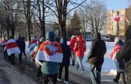 Агрогородок под Минском организовал марш