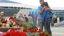 Николай Кривоносов и Сергей Остапчук похоронены на Кальварийском кладбище Минска