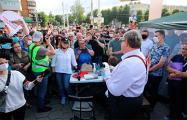 Яркий фоторепортаж с легального пикета Виктора Бабарико в Бобруйске