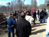 Информация о Народном сходе разошлись за 15 минут (Фото)