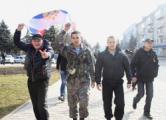 Захватчики прокуратуры Горловки жгут уголовные дела