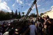 Ливийская армия начала штурм базы повстанцев
