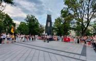 В Вильнюсе прошел «Балтийский путь» в поддержку белорусов
