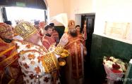 В Гомеле открыли мемориальную доску в память о расстрелянном коммунистами священнике