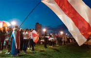 Жители Лошицы вместе с соседями провели «огненный» марш