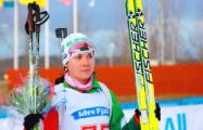Надежда Скардино вошла в десятку лучших на этапе Кубка мира по биатлону
