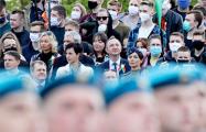 COVID-19 заболел участник парада 9 мая