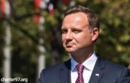 Анджей Дуда: Польша поддерживает идею миротворцев ООН в Украине