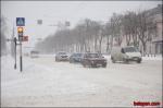 Гомель накрыл новый циклон: движение на дорогах затруднено