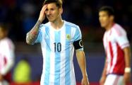 Месси отказался от Кубка Америки-2015