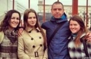 "Сергея Михалка на минском вокзале ""сняли"" девушки"