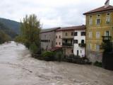 Ливни привели к наводнению в Словении