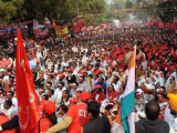 В столице Индии прошла стотысячная акция протеста