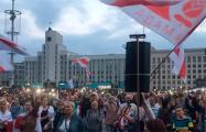 Минчанка на площади Независимости: Я хочу строить свое будущее здесь